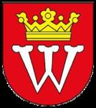 Das Wappen von Weikersheim