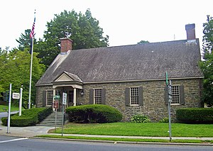 Wappingers Falls, New York - Police Station, former post office listed on the NRHP
