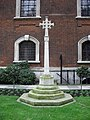 War Memorial outside St. Botolph's without Bishopsgate - geograph.org.uk - 1170447.jpg