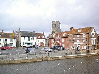 Wareham, Dorset town in Dorset