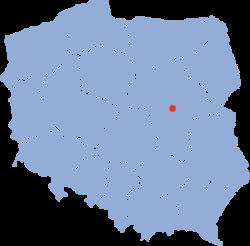 Vị trí của Warszawa