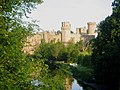 Warwick Castle from Banbury Road Bridge - geograph.org.uk - 1655470.jpg