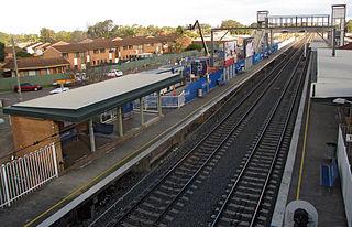 Warwick Farm railway station railway station in Sydney, New South Wales, Australia