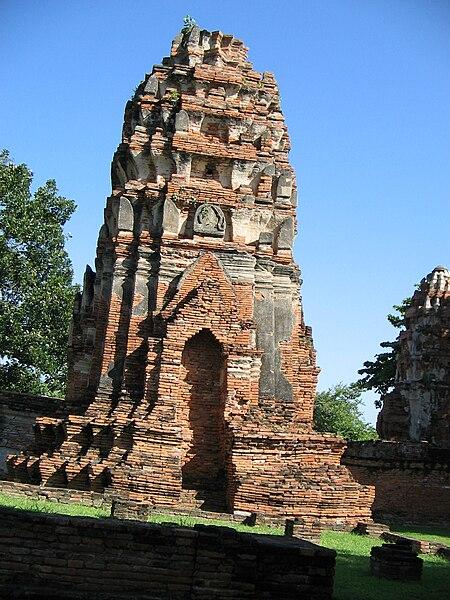 Wonderful Places in Asia: Wat Mahathat - Ayutthaya