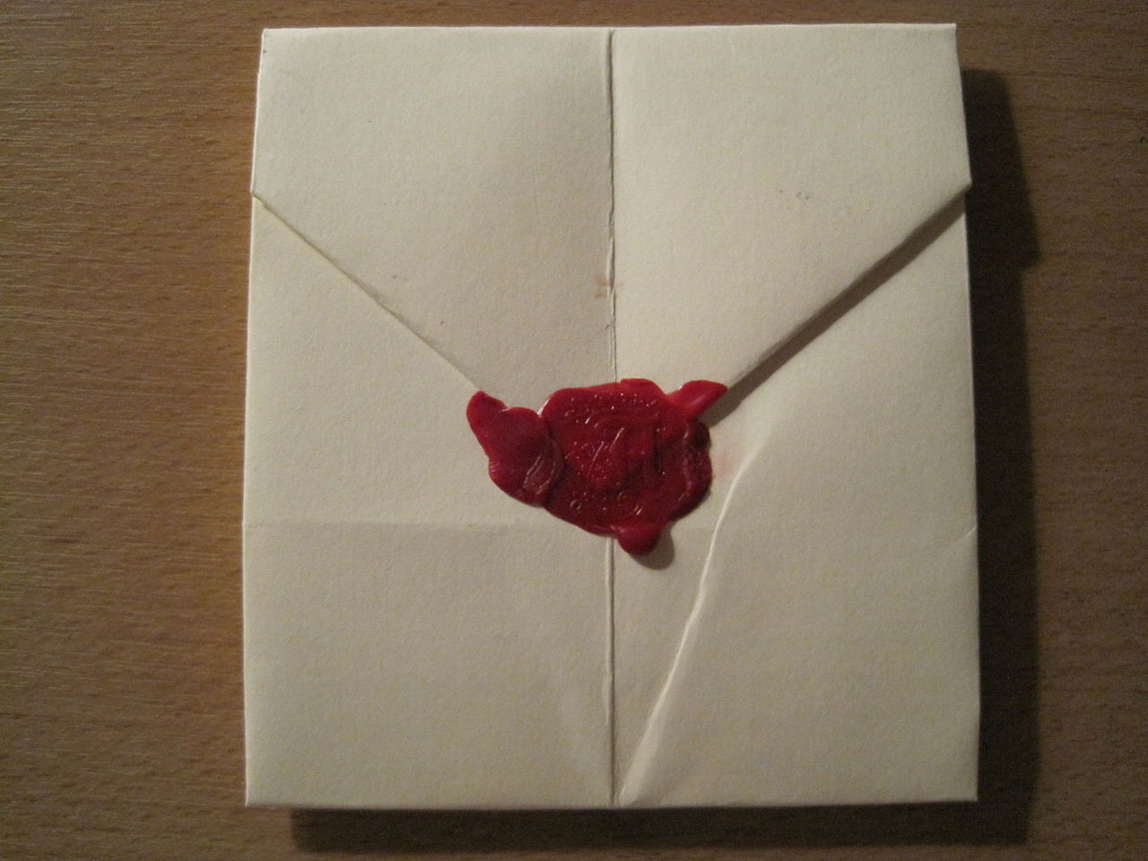 filewax seal with impression of uppercase letter ajpg