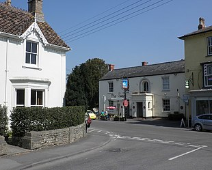 The centre of Wedmore