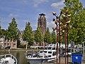 Weesp Oudegracht Laurentiuskerk zonder spits.jpg