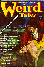 Weird Tales cover image for April 1939