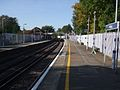 Welling station look west.JPG