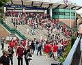 Wembley Park Station before FA Community Shield 2013 - panoramio.jpg