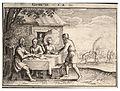 Wenceslas Hollar - Abraham entertains the angels (State 1).jpg