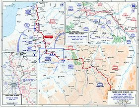Map of the Western Front, 1917