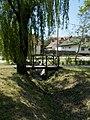 Western wooden footbridge. - Fő Street, Torbágy.jpg