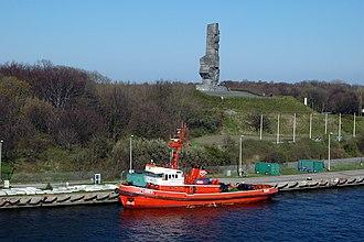 Westerplatte - Image: Westerplatte monument