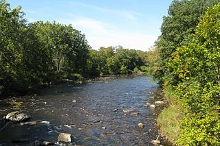 Westfield River river in the United States of America