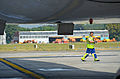 What it means to be..tower pusher @ Brussels Airport (7975516041).jpg