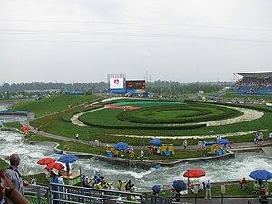 Shunyi Olympic Rowing-Canoeing Park - Image: Whitewater Slalom 2008 Olympics 5