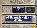 Wien-Penzing - Tafel der Heinrich Collin-Straße.jpg