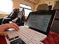 WikiArS al tren.JPG