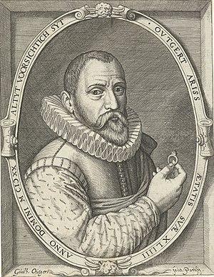 Outgert Ariss Akersloot - Engraving by Willem
