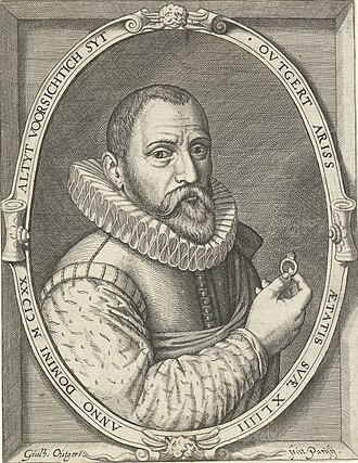 Outgert Ariss Akersloot - Engraving by Willem