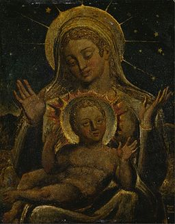 William Blake - Virgin and Child - Google Art Project