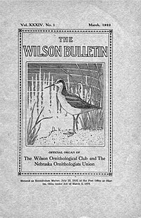 image illustrative de l'article The Wilson Journal of Ornithology