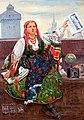 Wincenty Wodzinowski - Kobieta sprzedająca gazety 1907.jpg