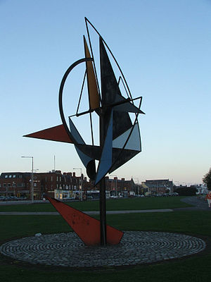 Éamonn O'Doherty (sculptor) - Image: Windsculpture 1988 Eamon O'Doherty