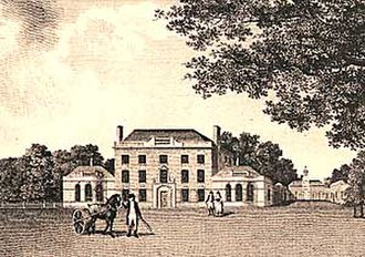 Wiseton - Image: Wiseton Hall c.1790