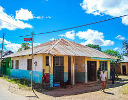 The Post Office at Witu, on the way to Lamu