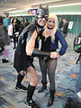 WonderCon 2012 - Short-shorts Bat-dude and Black Canary (6873357326).jpg