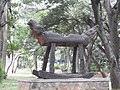 Wood art-12-cubbon park-bangalore-India.jpg