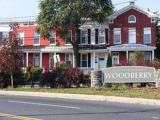 Woodberry, Baltimore - The Woodberry neighborhood of Baltimore.