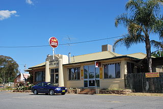 Woomargama Town in New South Wales, Australia