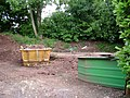 Work area, Dawlish Cemetery - geograph.org.uk - 1359623.jpg