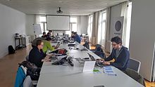 Writing weeks Brussels 2016 - Muntpunt - 9 April 2016.jpg