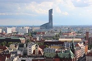 Sky Tower (Wrocław) - Image: Wrocław Sky Tower