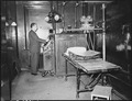 X-Ray equipment in company owned hospital. U.S. Coal & Coke Company, U.S. ^30 & 31 Mines, Lynch, Harlan County... - NARA - 541416.tif