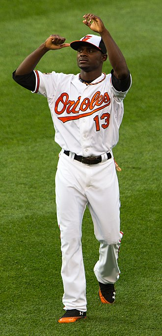 Xavier Avery - Avery with the Baltimore Orioles