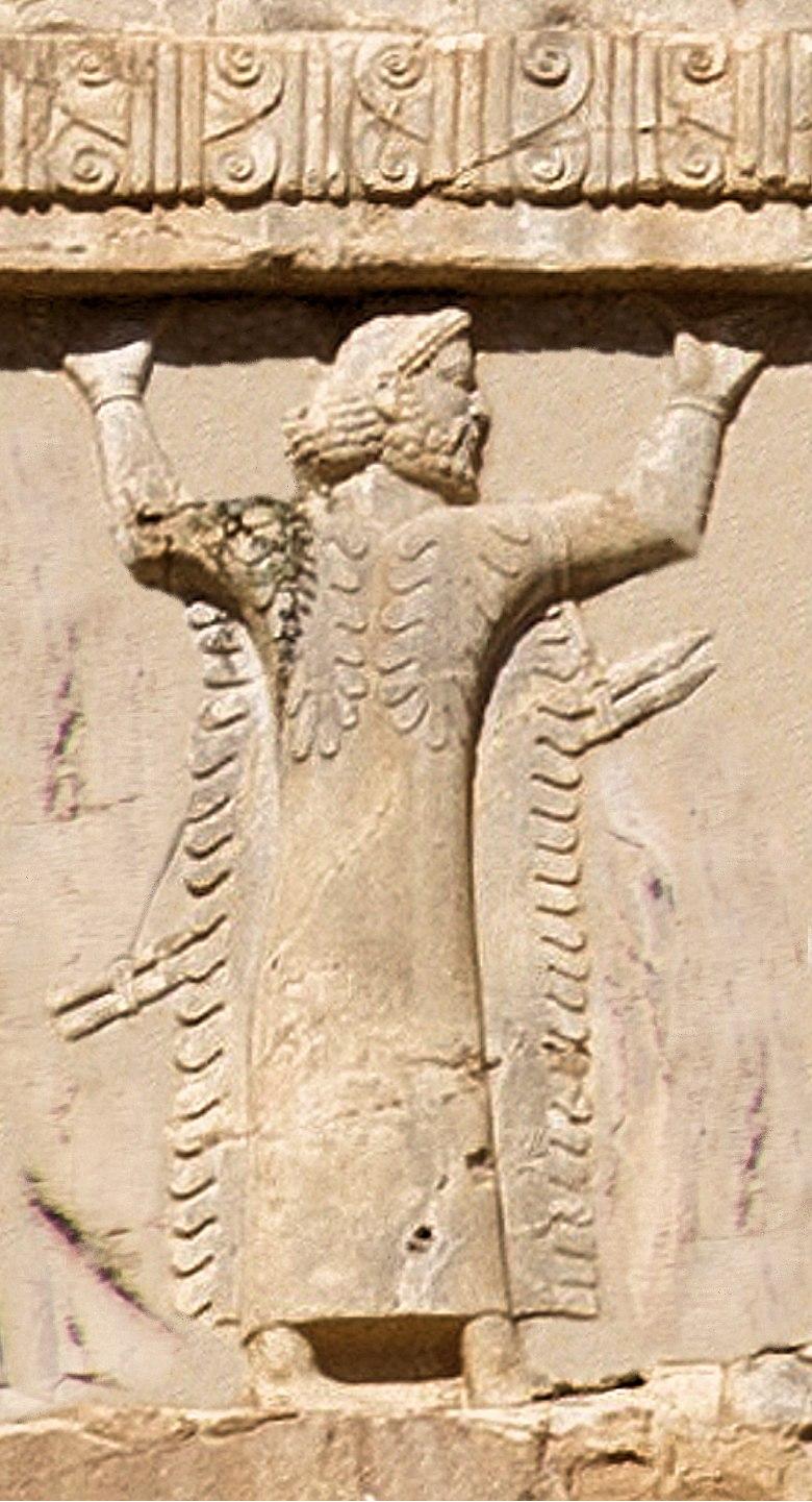 Xerxes I tomb Libyan soldier circa 480 BCE