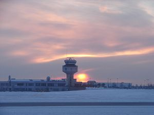 Ottawa Macdonald–Cartier International Airport - Control tower