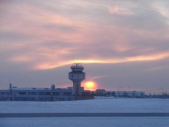 Ottawa Macdonald–Cartier International Airport - Control tower
