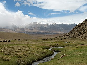 Damxung County - Image: Yangpachen Valley