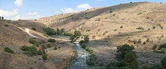 Water supply and sanitation in the Palestinian territories - Jordan River