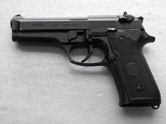 Beretta 92 - Turkish Beretta 92 copy, the Yavuz 16 Compact.