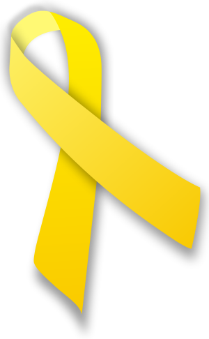 English: yellow ribbon