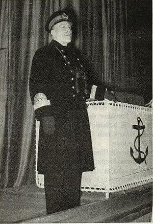 Yngve Ekstrand - Admiral Ekstrand in 1944.