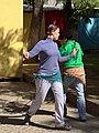 Young Women Practice Dancing - Oaxaca City - Oaxaca - Mexico (6492471311).jpg