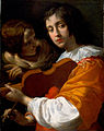 Youth with Violin by Giovanni Martinelli, oil on canvas, ca. 1640-1650, High Museum of Art.jpg